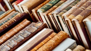 old books background